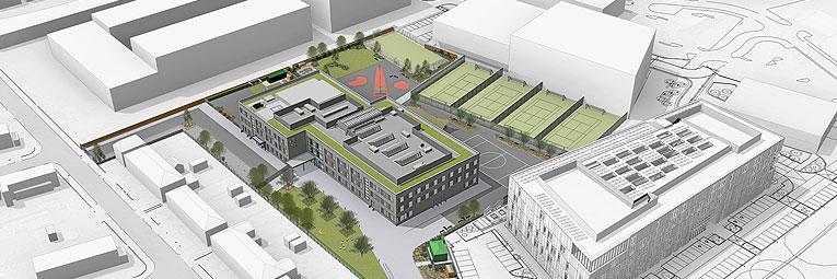 Richmond Education And Enterprise Campus Roofline Group