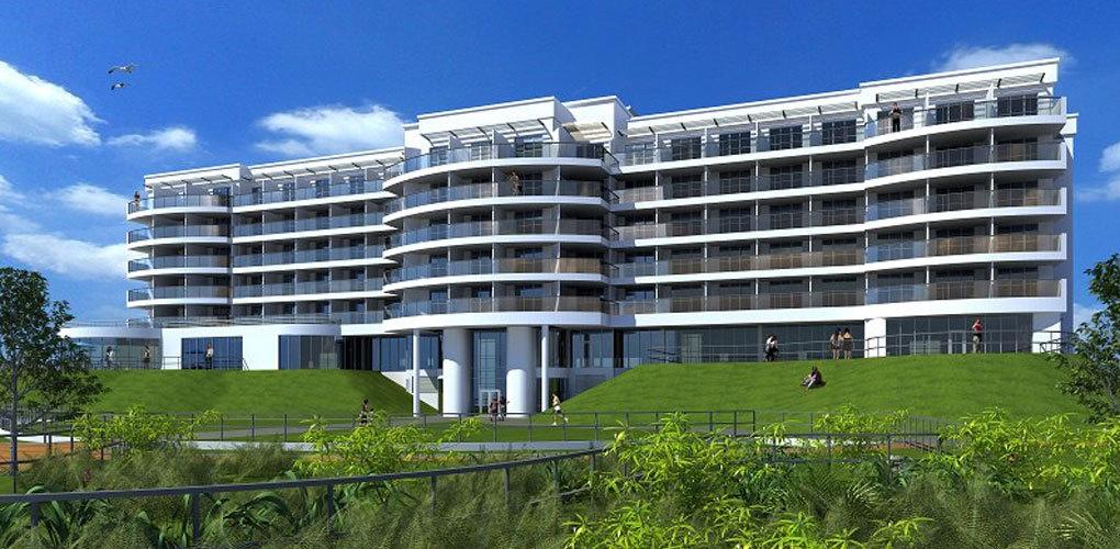 Butlins Ocean Hotel Roofline Group Uk Flat Roofing And