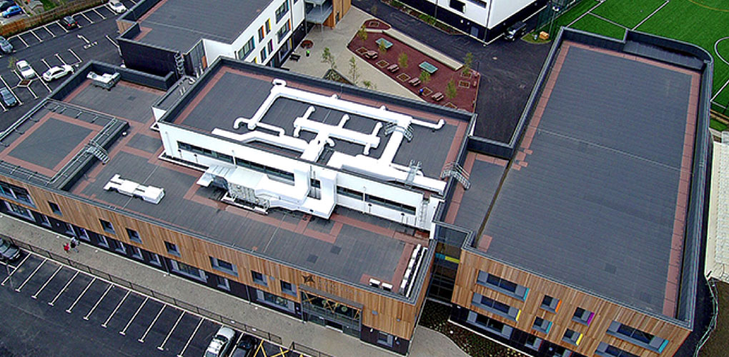 Ditton Park Academy Roofline Group Uk Flat Roofing And
